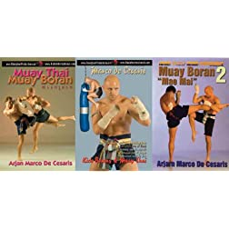Muay Thai 3 DVD Box set Budo
