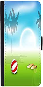 Snoogg Abstract Summer Backgrounddesigner Protective Flip Case Cover For Appl...