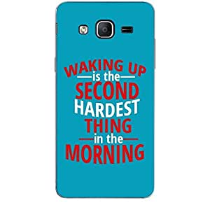 Skin4gadgets WAKING UP IS THE SECOND HARDEST THING IN THE MORNING Phone Skin for SAMSUNG GALAXY ON5
