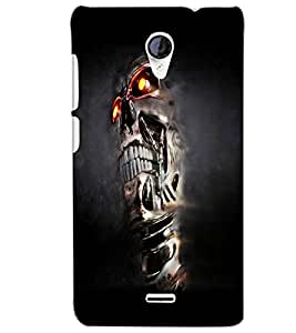 MICROMAX A106 UNITE 2T SKULL Back Cover by PRINTSWAG