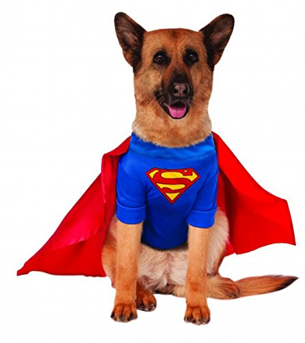 Dog Superman Costume Small