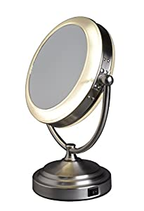 Floxite Daylight Cosmetic Mirror, 8 x Mag