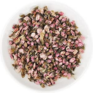 Sierra Tea Dried Peach Flowers Buds (Herbal Tea 100g), 桃花