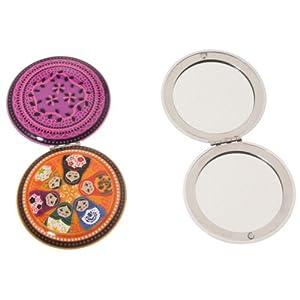 100%tendance - Miroir de poche décor matriochka couleur orange 41e29d-QJQL._SL500_AA300_