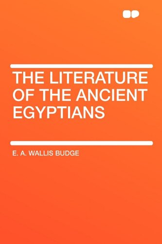 An overview of the ancient egyptian literature