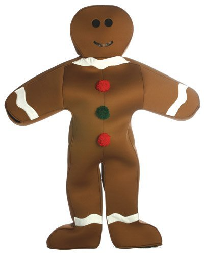 Original ADULT Mr. Gingerbread Costume - Great Holiday Costume Fun!