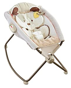 Fisher Price My Little Snugapuppy Deluxe Newborn Rock N Play Sleeper, Multi