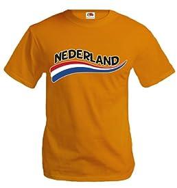 buXsbaum T-Shirt Netherlands-Wave