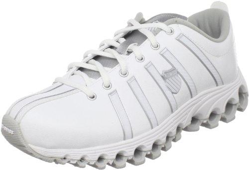 K-Swiss Women's Speedster Tubes Training Shoe,White/Platinum/White,11 M US
