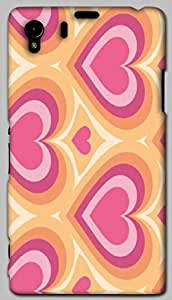 Timpax protective Armor Hard Bumper Back Case Cover. Multicolor printed on 3 Dimensional case with latest & finest graphic design art. Compatible with only Sony L39H / 39. Design No :TDZ-21525