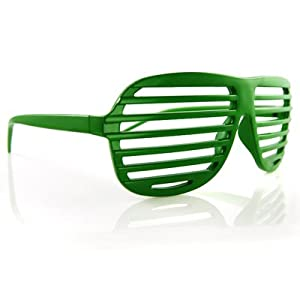 NEW KANYE STRONGER SHUTTER SHADES HIP HOP SUNGLASSES GREEN