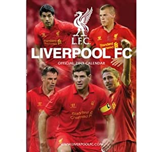 Liverpool Fc 2013 Calendar from Liverpool FC