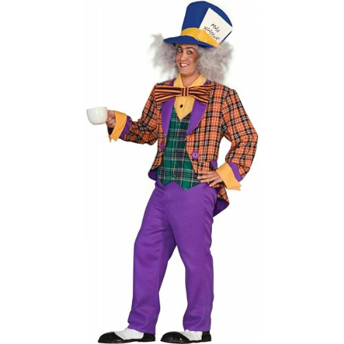 Mad Hatter Costume - Standard - Chest Size 38-42