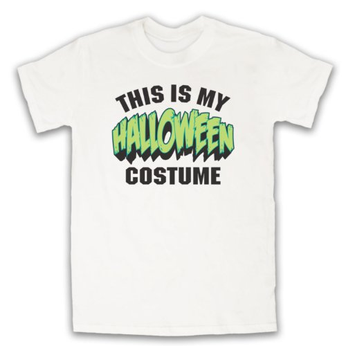 My Icon Men's This Is My Costume Halloween T-Shirt