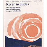 img - for River in Judea SHEET MUSIC SAB book / textbook / text book