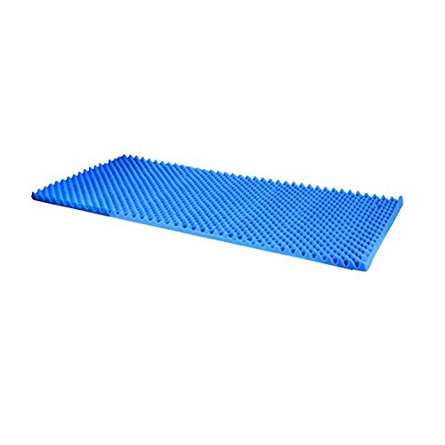 duro-med-convoluted-bed-pad-hospital-size-bed-pad-blue-33-inch-x-72-inch-x-2-inch