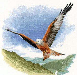 heritage-crafts-flights-of-fancy-cross-stitch-kits-red-kite-in-flight-14-count