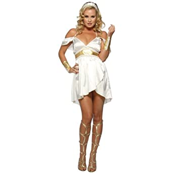 Amazon.com: Alluring Aphrodite Greek Goddess Costume ...Greek Goddess Aphrodite With Clothes