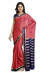 Kaushika Sarees Pure Crepe Traditional Mysore Silk Saree
