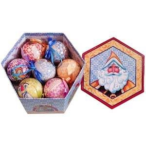 Amazon com heartwood creek 12 days of christmas ball ornament set