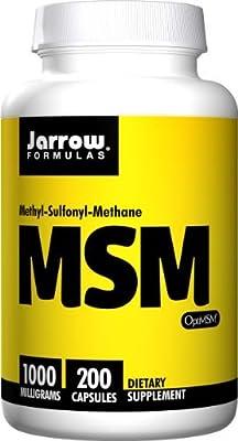 Jarrow Formulas MSM Sulfur, 1000mg (800 Capsules)