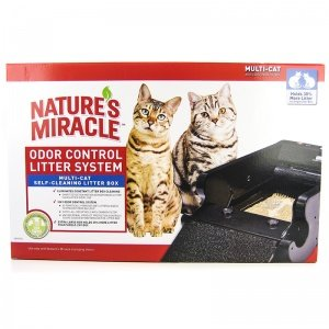 Nature's Miracle Nature's Miracle Multi-Cat Self-Cleaning Litter Box (NMA980) (Natures Miracle Litter Box compare prices)