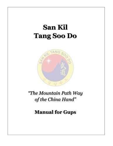 San Kil Tang Soo Do Manual For Gup PDF
