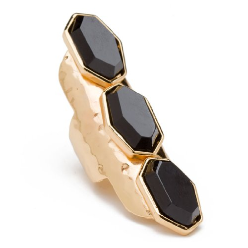 41e2STdbzlL ~ CC Skye Onyx Triple Ring   jewelry Discount !!