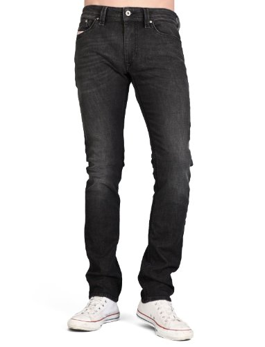 Diesel Thanaz R7j8 Skinny Black Man Jeans Men - W36 L32