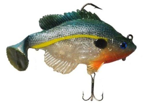 Real Fish Sexy Bluegill Delta Special Bait, 5-Inch