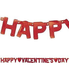valentines letter banner decoration