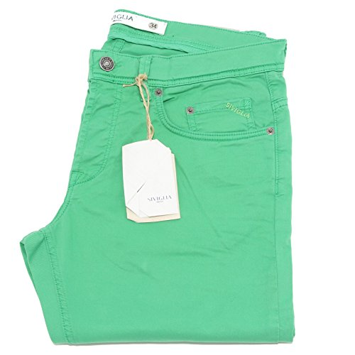 81575 pantaloni lunghi SIVIGLIA DENIM STRETCH jeans uomo trousers men [36]