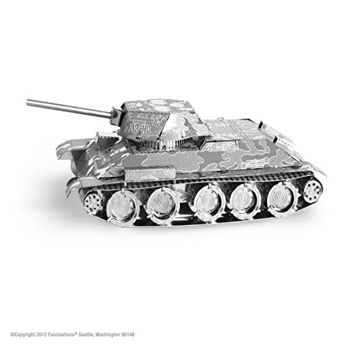 Fascinations MMS201 MetalEarth - T-34 Tank - 1