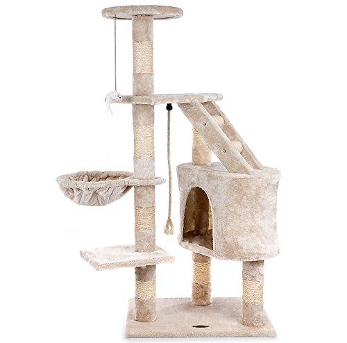 happypet katzen kratzbaum. Black Bedroom Furniture Sets. Home Design Ideas