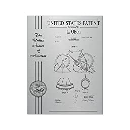 Patent Plaque Award - Stainless Steel - 10.5\