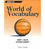WORLD OF VOCABULARY ORANGE LEVEL SE 1996C (GLOBE WORLD OF VOCABULARY)