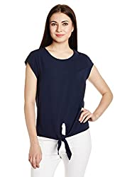 French Connection Women's Tunic Top (72FFJ_Nocturnal_Small)