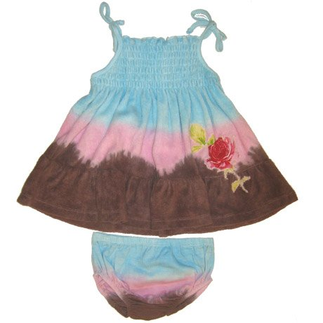 Baby Nay Dip Dye Dress with Bloomer - Buy Baby Nay Dip Dye Dress with Bloomer - Purchase Baby Nay Dip Dye Dress with Bloomer (Baby Nay, Baby Nay Apparel, Baby Nay Toddler Girls Apparel, Apparel, Departments, Kids & Baby, Infants & Toddlers, Girls, Skirts, Dresses & Jumpers, Dresses)