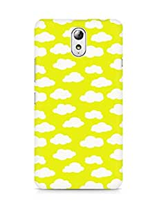 Amez designer printed 3d premium high quality back case cover for Lenovo Vibe P1M (Cloud Pattern3)