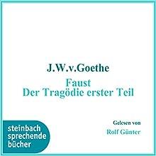 Faust: Der Tragödie erster Teil (       ungekürzt) von Johann Wolfgang Goethe Gesprochen von: Rolf Günther