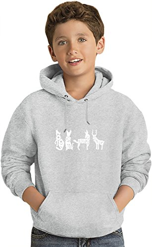 Moony Wormtail Felpa leggera con Cappuccio per Bambini Lightweight Hoodie For Kids | 80% Cotton-20%Polyester| 14-15 yrs