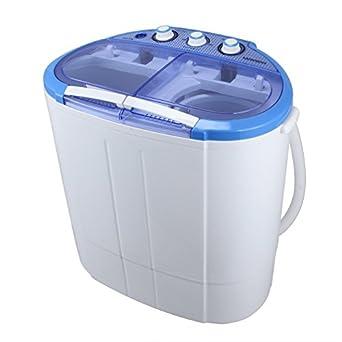 arksen portable mini washing machine compact laundry 110v 7 9lbs 3 6kg white. Black Bedroom Furniture Sets. Home Design Ideas