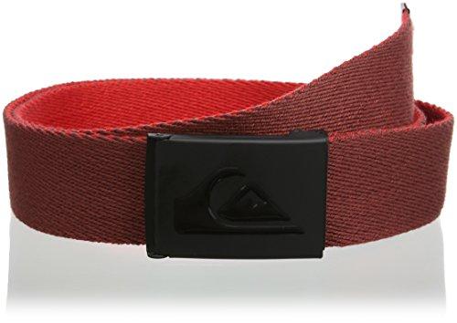 Quiksilver - Cintura - Uomo rosso Red (Port)
