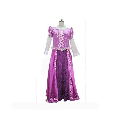 【ノーブランド品】1330ディズニー 塔の上のラプンツェル コスプレ衣装(オーダー)