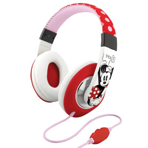 Ekids Minnie Mouse Over The Ear Headphones With Volume Control, By Ihome - Dm-M403