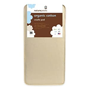 Naturepedic Organic Cotton Cradle Pad
