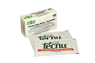 Pac-Kit by First Aid Only 18-024 Tecnu Oak'N'Ivy Cleanser Packet (Box of 4) by Acme United