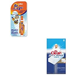 KITPAG01870PAG82027 - Value Kit - Procter amp; Gamble Professional To Go Stain Remover Pen (PAG01870) and Mr. Clean Magic Eraser Foam Pad (PAG82027)