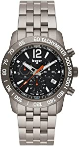 Classic Chronograph Titanium Watch by Traser
