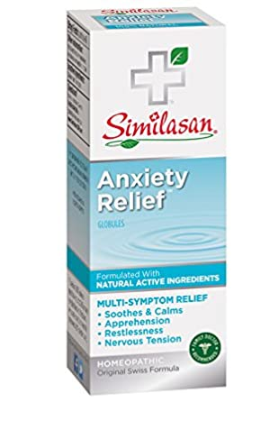Similasan Anxiety Relief Globules, Soothes & Calms Anxiety, 154 Doses